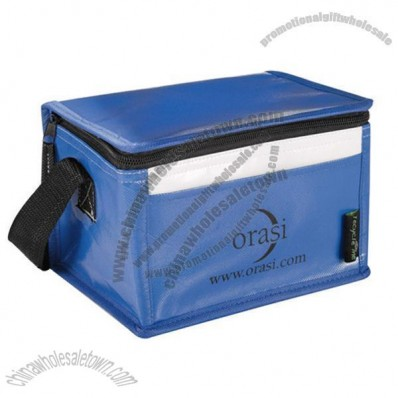 Laminated Non-Woven Six Pack Lunch Cooler Bag