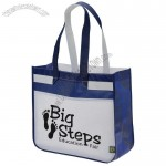 Laminated Shopper Tote Bag