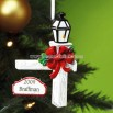 Lamp Post Personalized Ornament