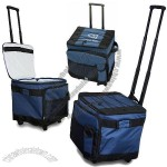 Large Expandable Rolling Cooler Bag