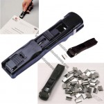 Large Nalclip Dispenser, Marbig Fast Clips Staples
