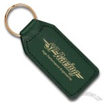 Large Rectangular Leather Keyfob