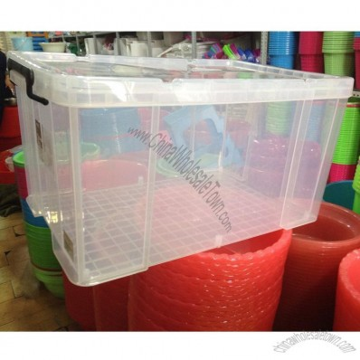 Large Transparent Thick Storage Box