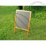 Large Wooden Board Pavement Sign Sandwich Shop Menu Board Cafe Display Pub