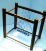 Large Wooden Newton's Cradle