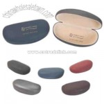 Large designer faux leather sunglass/eyeglass case