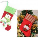 Large thick non-woven Christmas Stocking