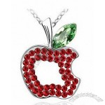 Latest Christmas Apple Necklace