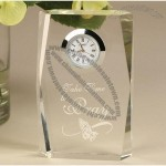 Lead Crystal Clock