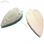 Leaf Shaped Plastic Nail Brush