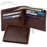 Leather Billfold Wallet for Men's