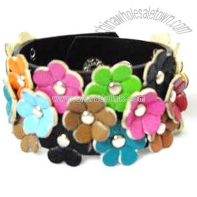 WHOLESALE WOMEN LEATHER CUFF BRACELET - DINODIRECT.COM