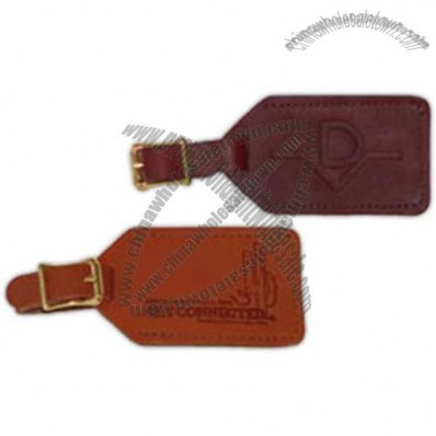 Leather Buggage Tag