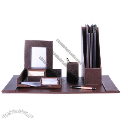 Leather Business Office Set