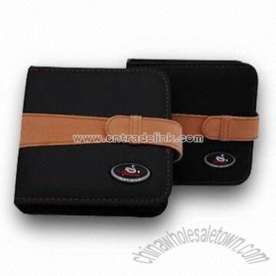 Leather CD Carry Case
