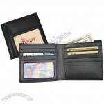 Leather Double ID Hipster Wallet 4