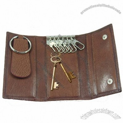 Leather Key Pocket