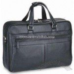 Leather Look PVC Briefcase