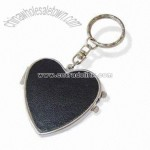 Leather Photo Frame Keychain