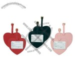 Leather Sweetheart Luggage Tag