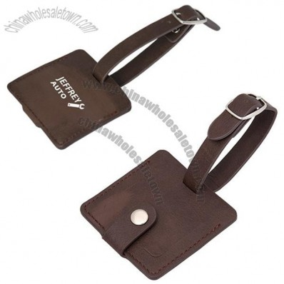 Leather Tourist Tag