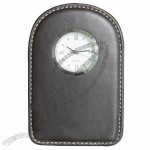 Leather Travel Clock