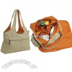 Leather Versatile Diaper/Sports bag