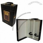 Leather Wine Gift Boxes, Apply A Variety Of High-Grade Liquor