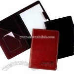Leather junior notepad holder