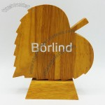 Leaves Shaped Wood Trophy Award
