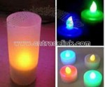 Led Flashing Candle Holder