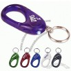 Led Flashing Plastic Carabiner and Keychain