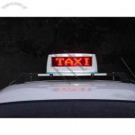 Led Message Signs for Taxi