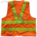 Led Safety Vest - Orange