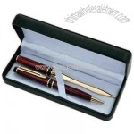 Letter opener and ballpoint pen set in a gift box