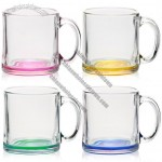 Libbey 13oz Clear Glass Coffee Mugs