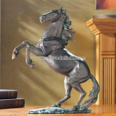 Liberty Bronze Finish Stallion
