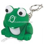 Light & Sound Keychain - Frog