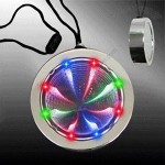 Light Up Badge - Multicolor Pendants Necklaces