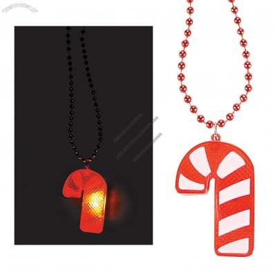 light up candy cane necklaces flash necklace china. Black Bedroom Furniture Sets. Home Design Ideas