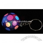 Light Up Flashing Disco Ball Key Chain