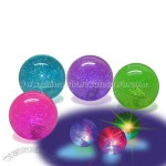 Light Up Hi Bounce Glitter Water Ball