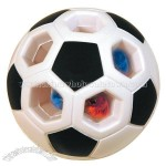 Light Up Soccer Ball Squeezie Stress Reliever