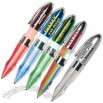 Light up pop out pens