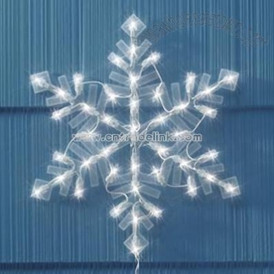 Lighted Snowflake