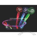 Lighted drink stirrer
