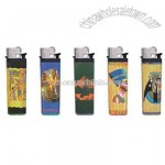 Lighters with Roll Printed Paper