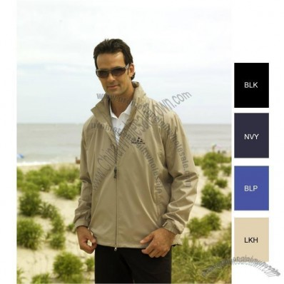 Lightweight Packable Rain Custom Printed Jackets for Men's