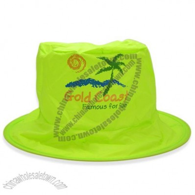 Lime Green Foldable Fisher Hat