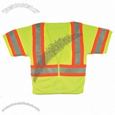 Lime Safety Vest Short Sleeve Class 3